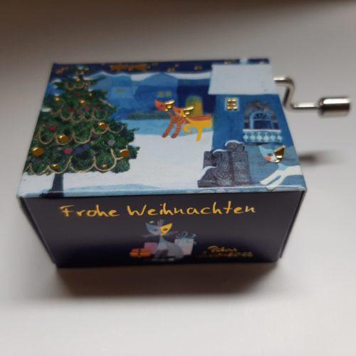 Muziekdoosje kerst Rosina Wachtmeister Natale in Neve