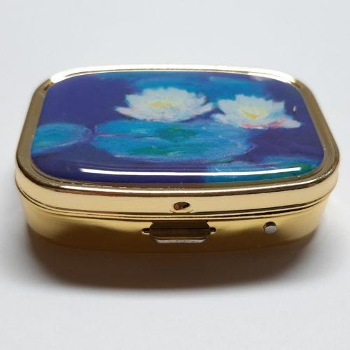 Pillendoosje Claude Monet Waterlelies