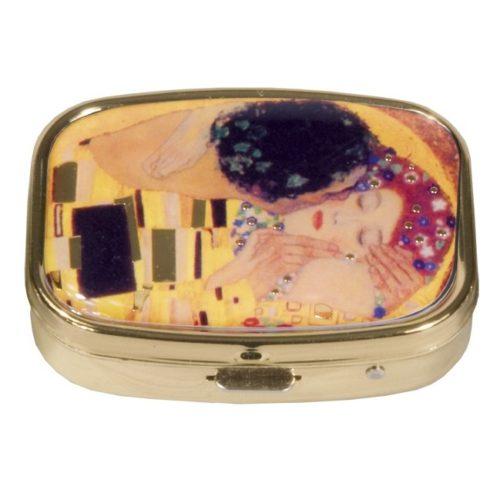 Pillendoosje Gustav Klimt De Kus