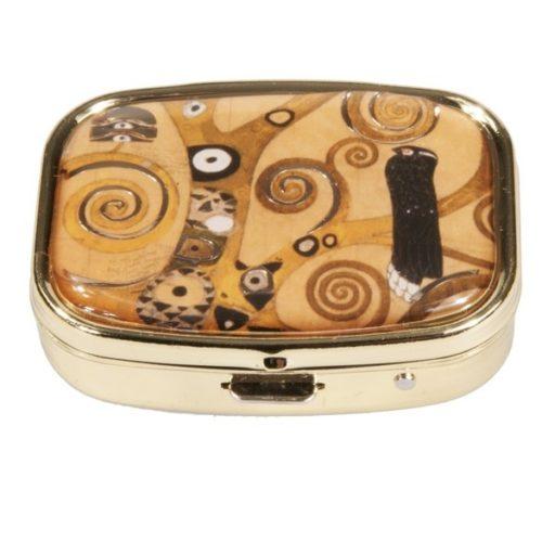 Pillendoosje Gustav Klimt De Levensboom