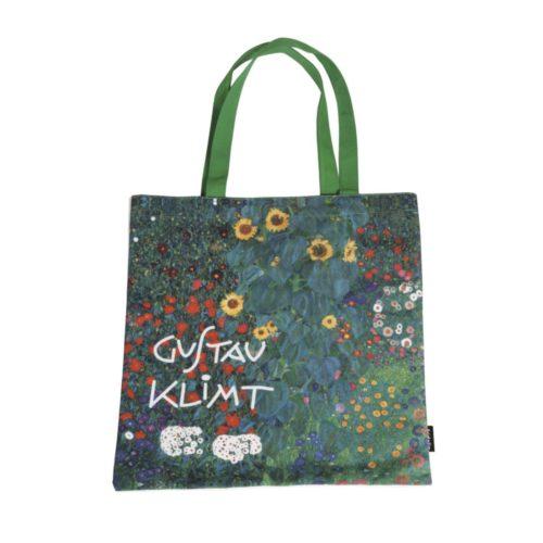 Shopping bag Gustav Klimt Farm Garden