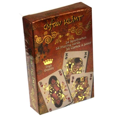 Speelkaarten kunstenaarscollectie Gustav Klimt