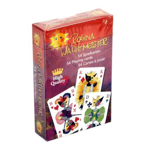 Speelkaarten kunstenaarscollectie Rosina Wachtmeister