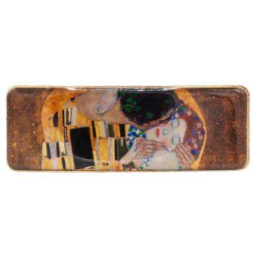 Haarknip kunstenaars Gustav Klimt De kus