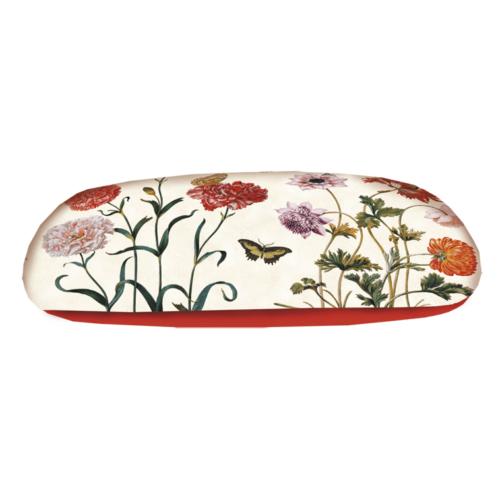 Brillenkoker luxe bloemen en vlinders van Maria Sibylla Merian