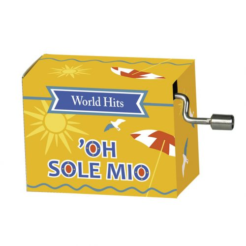 Muziekdoosje Oh Sole Mio uit de serie wereldhits