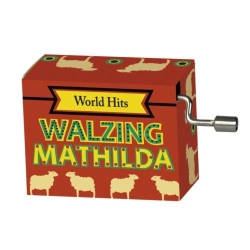 Muziekdoosje Walzing Mathilda uit de serie wereldhits