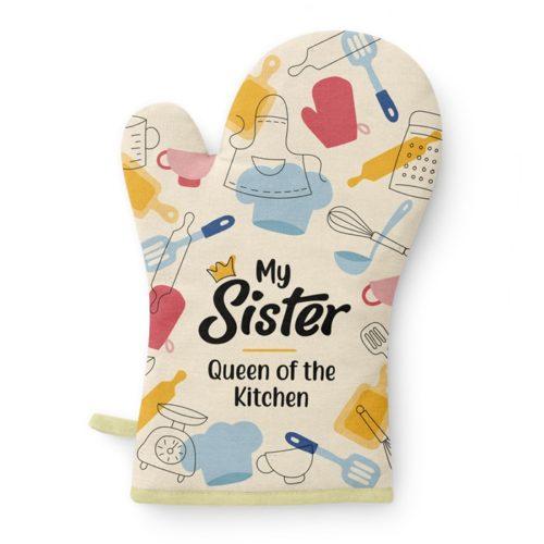 Ovenhandschoen zus My Sister queen of the kitchen