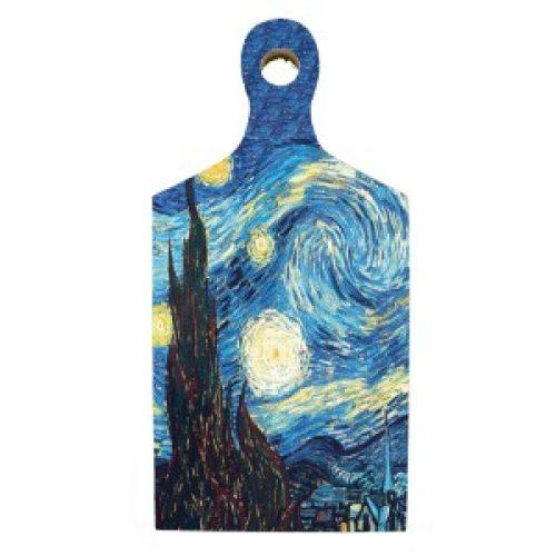 Borrelplank kunstenaars Vincent van Gogh Starry Night