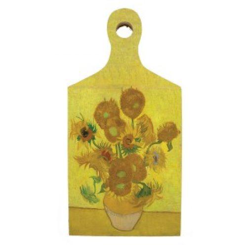 Borrelplank kunstenaars Vincent van Gogh Zonnebloemen