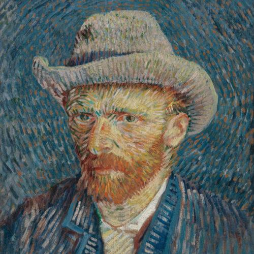 Onderzetter set Vincent van Gogh 6 stuks van hout