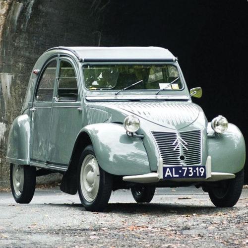 Onderzetters auto's Citroën 2CV set van 6