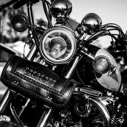 Onderzetters motoren Harley Davidson set van 6 stuks