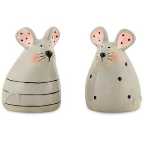 Peper en zout stelletje muizen